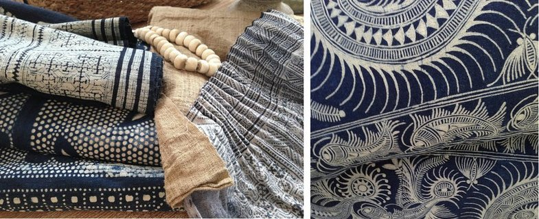 stoffe f rben mit textilfarbe batik und shibori. Black Bedroom Furniture Sets. Home Design Ideas