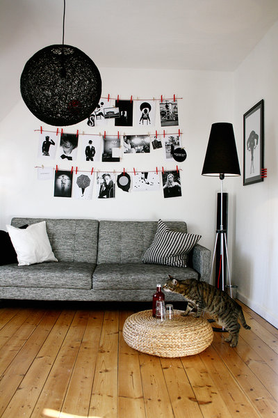 bilder aufh ngen die besten tipps tricks und inspirationen. Black Bedroom Furniture Sets. Home Design Ideas