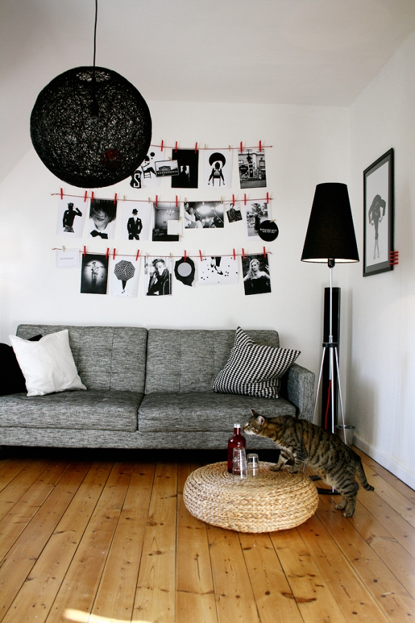 die sch nsten wanddeko ideen. Black Bedroom Furniture Sets. Home Design Ideas
